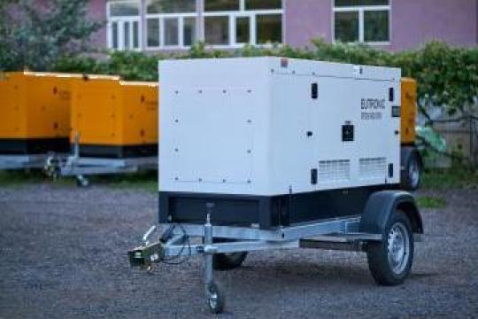 Inchiriere generator trifazat 25kva de la Inchirieri Remorci Berceni