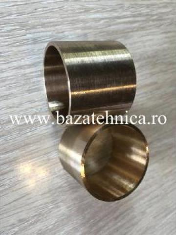 Bucsa bronz echivalent grafitat pentru combina 40x44x46 mm de la Baza Tehnica Alfa Srl