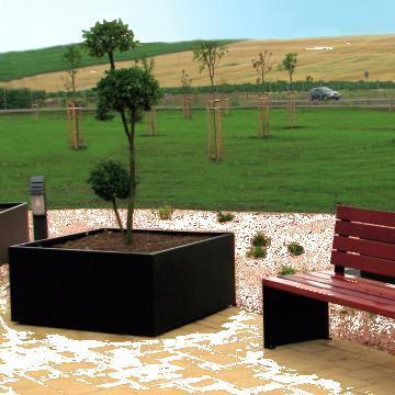 Jardiniera Constructivism Maxi de la Parkdekor Srl