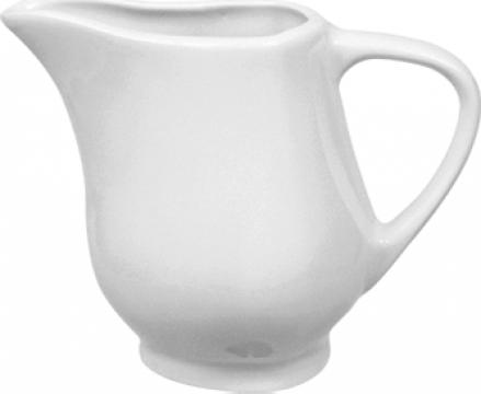 Cana pentru lapte din portelan 150cc colectia Pera de la Basarom Com