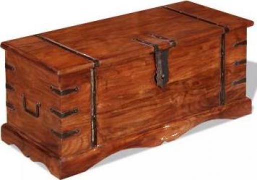 Cufar de depozitare din lemn esenta tare de la Vidaxl