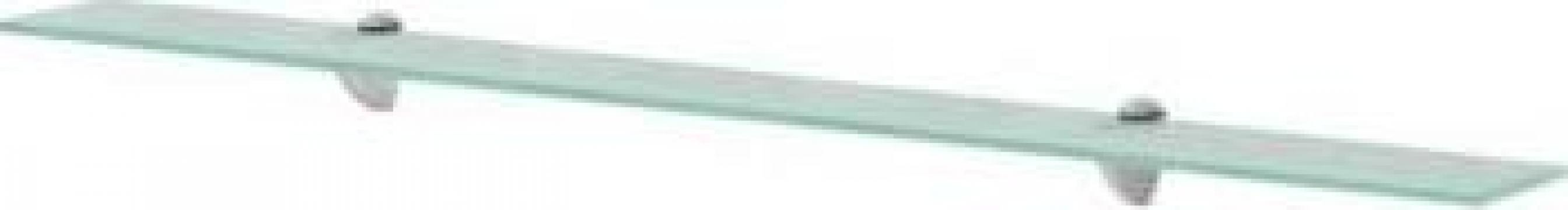 Raft suspendat din sticla, 100 x 20 cm, 8 mm