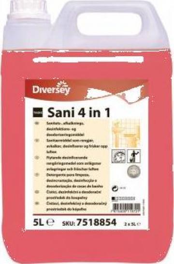 Detergent dezinfectant Sani 4 in 1 - 5l de la Best Distribution Srl