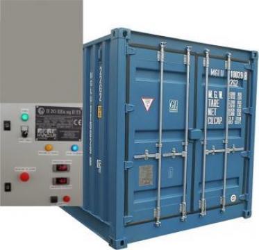 Container cu temperatura controlata de la SC Toalete Ecologice SRL