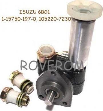Pompa alimentare Isuzu 4BG1, 6bg1, JCB, Hitachi, Kobelco de la Roverom Srl