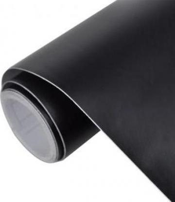 Autocolant folie impermeabila mata negru 200 x 152 cm