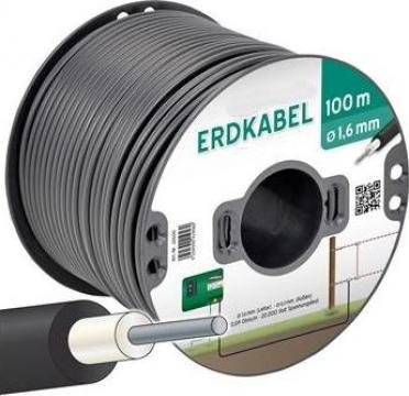 Cablu transfer subteran pentru gard electric 100 m de la Farmari Agricola Srl