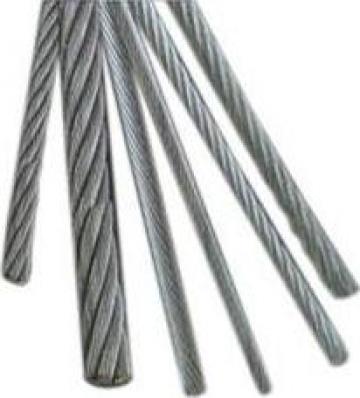 Cabluri tractiune constructie 6x37M-IWRC inima metalica de la Electrofrane