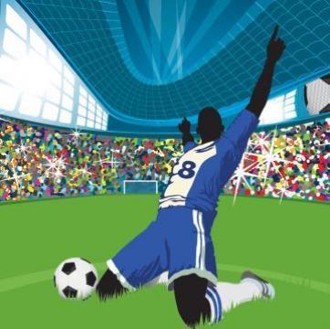 Cabina hidromasaj copii Fotbal de la Herold Trade Srl