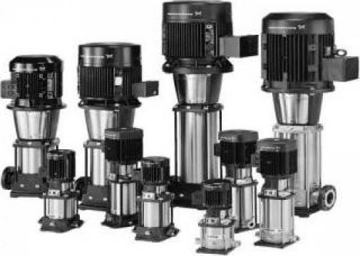 Electropompe centrifuge verticale Grundfos, CR, CRI, CRN de la Master Engineering Srl