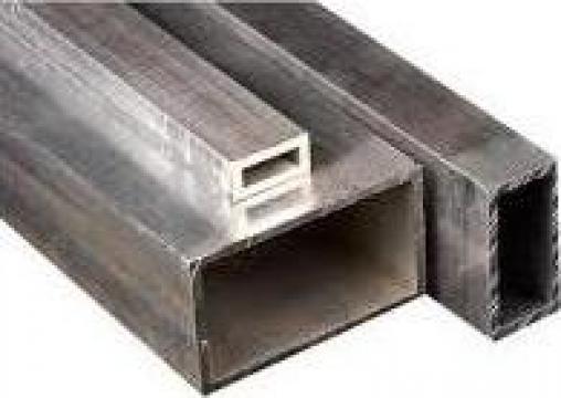 Teava aluminiu 50x20x2 rectangulara, dreptunghiulara inox