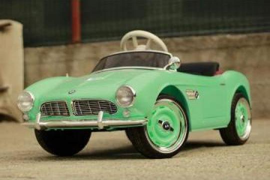 Jucarie Masinuta electrica pentru copii BMW 507 Oldtimer de la SSP Kinderauto & Beauty Srl