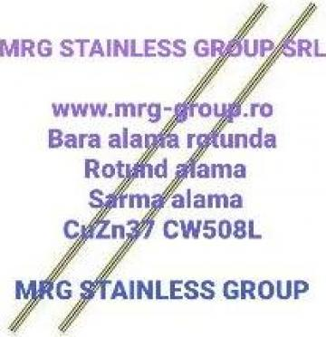 Bara alama rotunda 3x3000 sarma confectii metalice CuZn39Pb3