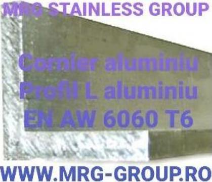 Cornier aluminiu 100x100x10 Profil L aluminiu Coltar 6060 T6 de la MRG Stainless Group Srl