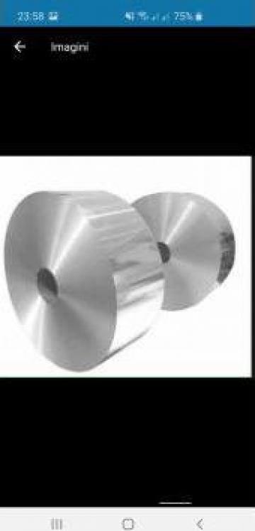 Folie aluminiu banda aluminiu 0.07mm rulou aluminiu AW 1050A