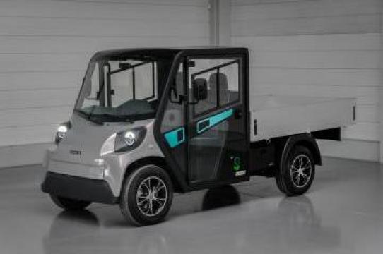 Autoutilitare si basculante 100% electrice 3,5 tone N1 de la Autolog Greenline