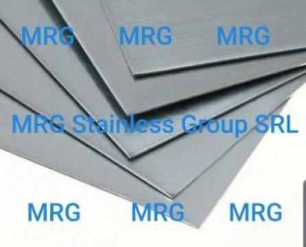 Tabla zinc 0.7x1000x2000mm rulou TiZn titan-zinc 99.9% Zn de la MRG Stainless Group Srl