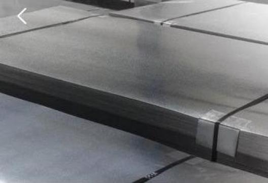Tabla zinc TiZnCu lisa cutata rulou de la MRG Stainless Group Srl