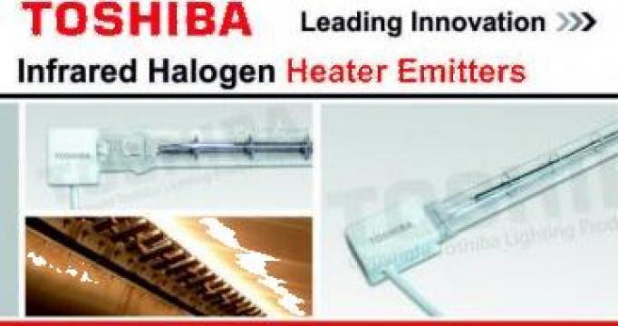 Lampa infrarosu JHC 400V 2500W 500 NH Toshiba Lighting de la Sfera Global Trading Srl
