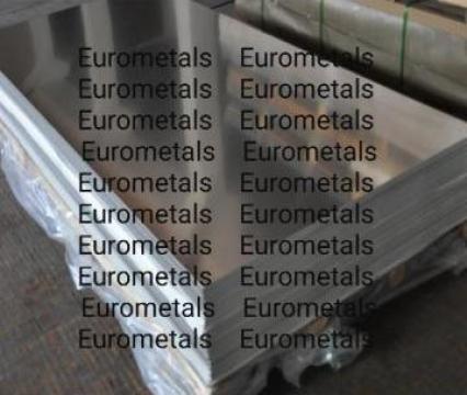 Tabla aluminiu lisa -Tabla aluminiu Stucco striata perforata de la Eurometals Service Center Srl