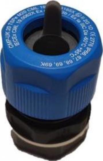 Presetupa M16 poliamida 3.2-10 mm Ex-i de la Sc Rolec Electric Industry Srl