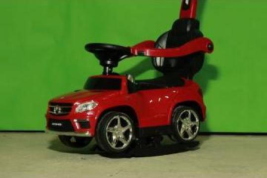 Jucarie Masinuta cu maner pentru copii Mercedes GL63 AMG 6V de la SSP Kinderauto & Beauty Srl