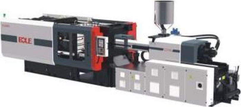 Masina de injectie hidraulica mase plastice cu servo-motoare de la Pacosar Services SRL