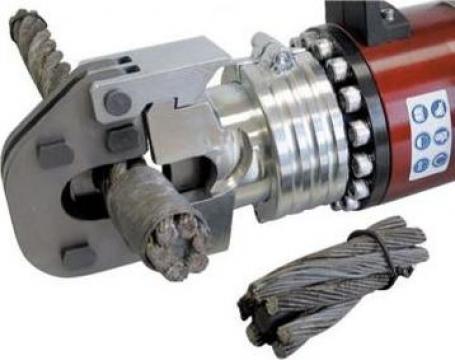 Cap interschimbabil debitare cablu otel 32 mm TF32 de la Proma Machinery Srl.