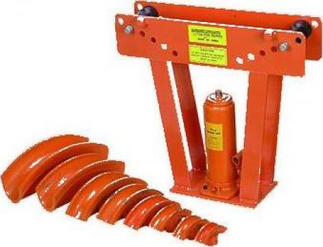 Dispozitiv de indoit tevi hidraulic HOT-300 de la Proma Machinery Srl.
