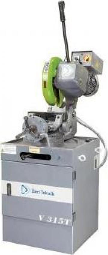 Fierastrau circular manual cu menghina automata V 275 T de la Proma Machinery Srl.