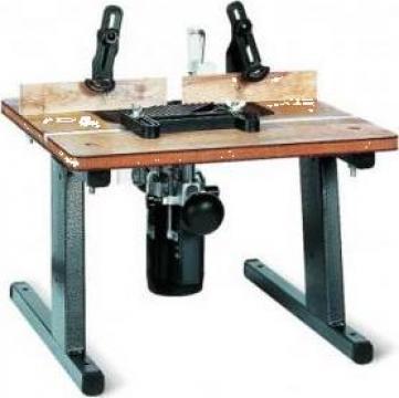 Masa lucru pentru freze lemn BX-1 de la Proma Machinery Srl.