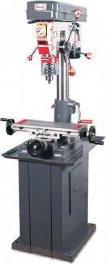 Masina de frezat metale de banc 23 mm FP-16K de la Proma Machinery Srl.