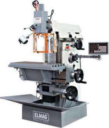 Masina de frezat metale universala 50/125 mm WFM 210 de la Proma Machinery Srl.