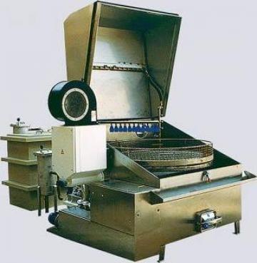 Masina de spalat, degresat piese cabina MCL de la Proma Machinery Srl.
