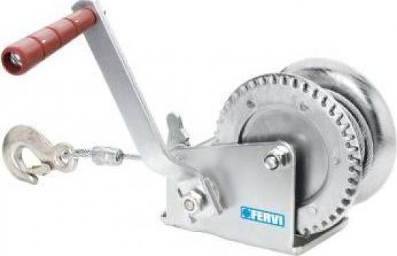 Troliu manual zincat cu cablu 0070/C