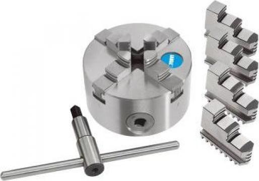 Universal autocentrant pentru strung cu 4 bacuri M449/100 de la Proma Machinery Srl.