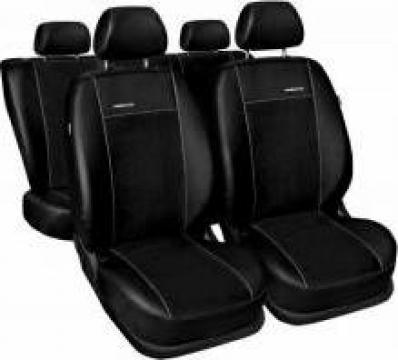 Huse scaune auto Toyota C-HR hybrid piele cu alcantara negru de la Paulomag