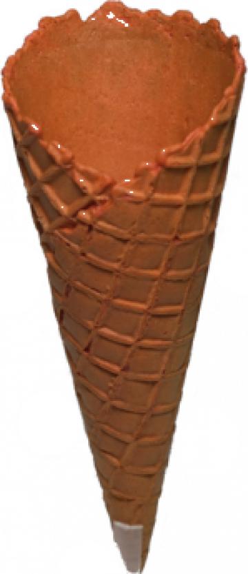 Cornet inghetata Idol Orange 288 buc/bax de la Cristian Food Industry Srl.