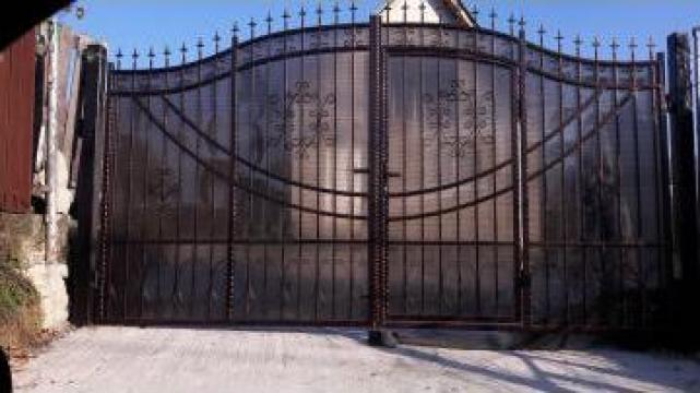 Garduri si porti fier forjat