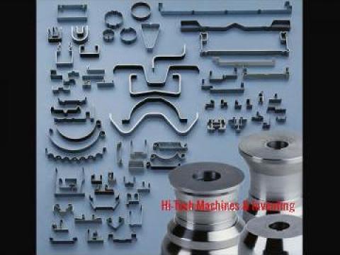 Linie de productie profile metalice in productia de tuburi