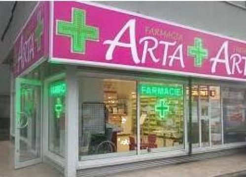 Mobilier farmacii de la Landscape