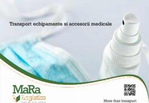 Transport aparatura si accesorii medicale