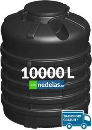 Rezervor subteran vertical corugat de 10000 litri de la Nedeias Com Srl