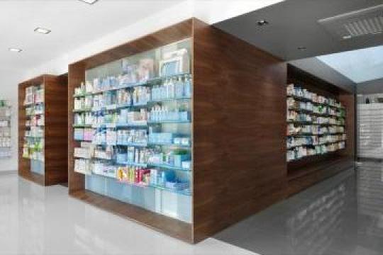 Mobilier farmacii Bibliofarma de la Landscape