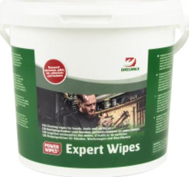 Servetele umede Dreumex Expert Wipes (130 servetele) de la Cat Trading Srl