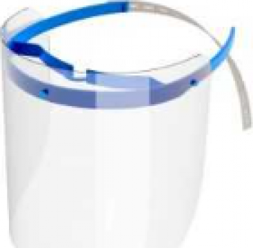 Viziera protectie faciala, transparenta de la Horeca Concept
