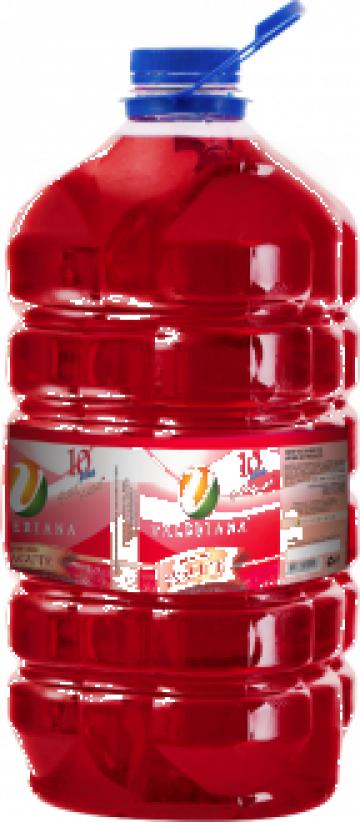 Sirop pentru granita 5 litri fragute de la Cristian Food Industry Srl.