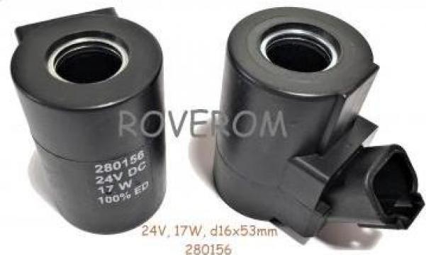 Bobina 24V, d16X53mm, Caterpillar M315, M325 de la Roverom Srl
