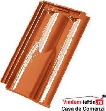 Tigla ceramica de aerisire Tondach Twist Teracota 30x50cm de la Vindem-ieftin.ro