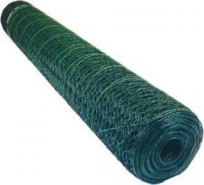 Plasa sarma rabitz plastifiata 1.0x10m